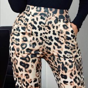 Pants - 🐆💛LEOPARD PRINT TROUSER🌻🌻💛